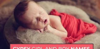 Gypsy Girl And Boy Names