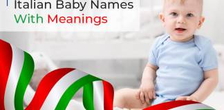 Italian Baby Names With Meanings