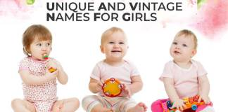 Unique And Vintage Names For Girls