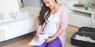 Third Trimester Checklist: a Diary for Pregnant Mothers