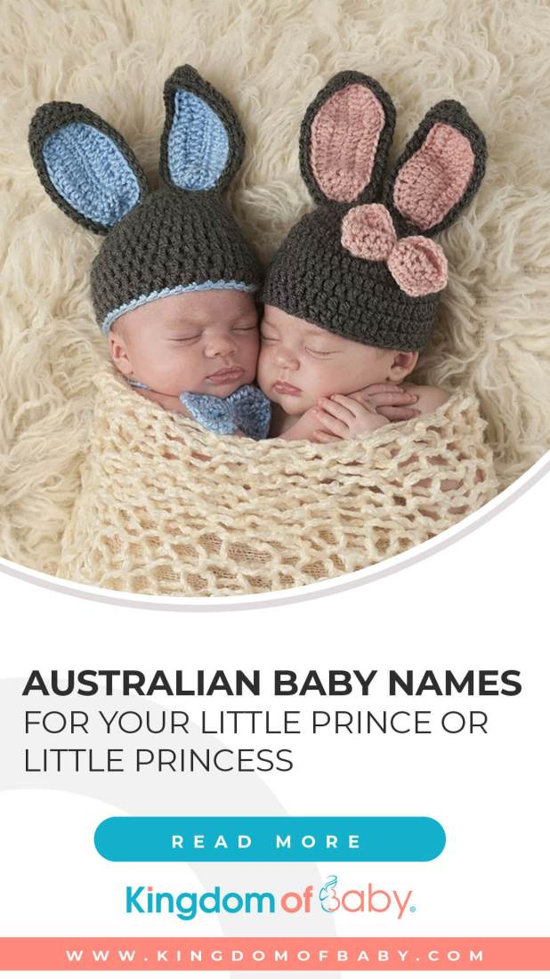 Australian Baby Names for Your Little Prince or Little Princess 1
