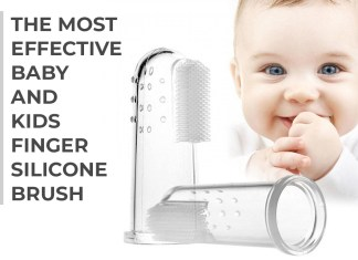 The Most Effective Baby and Kids Finger Silicone Brush
