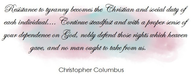 quote christopher columbus