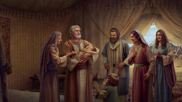 神赐给亚伯拉罕一个儿子