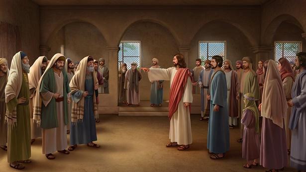 主耶稣对法利赛人的斥责