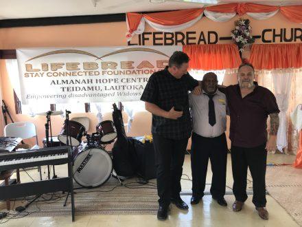 Ministering at Lifebread Church, Lautoka, Fiji 2019