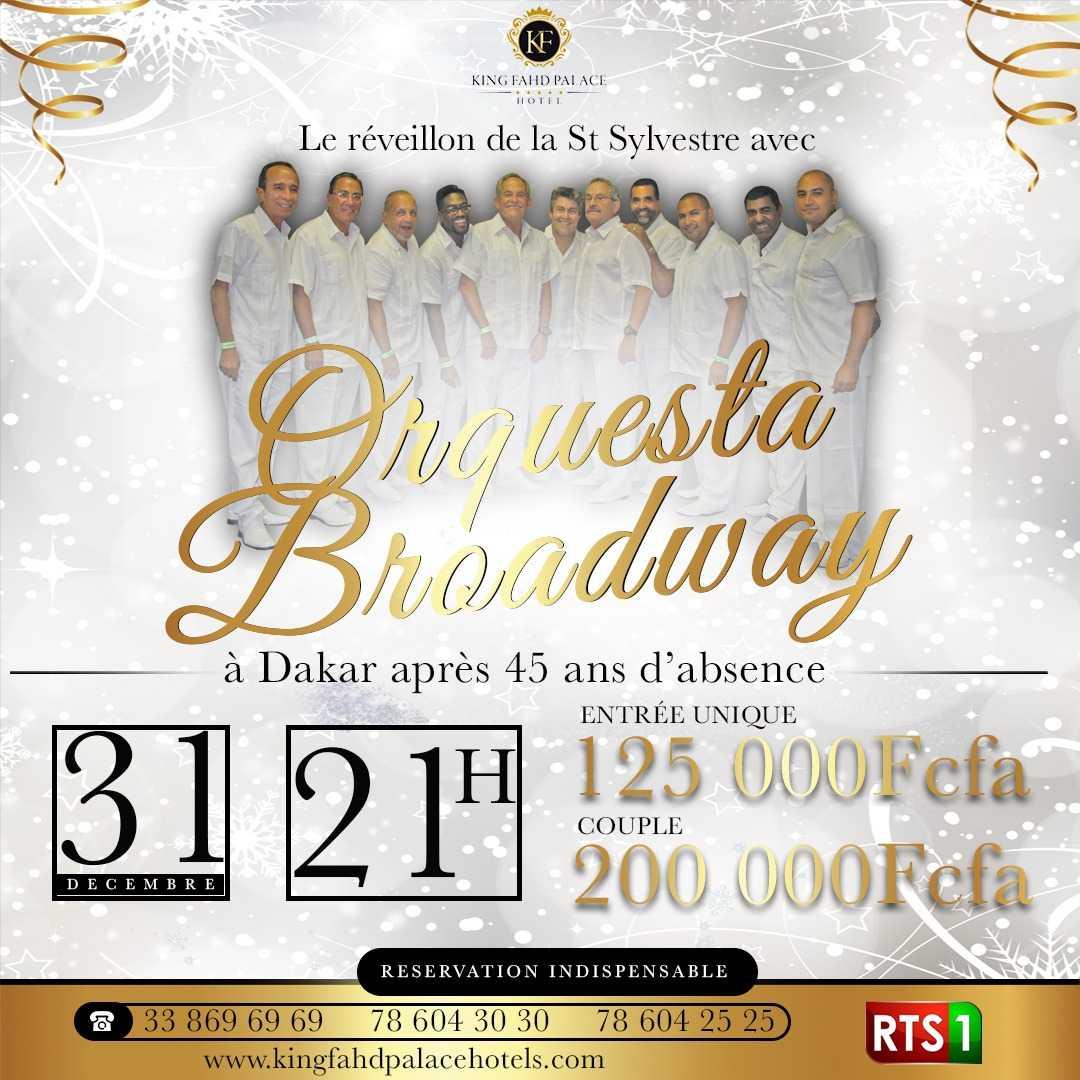 Orquesta Broadway pour le réveillon de la Saint Sylvestre