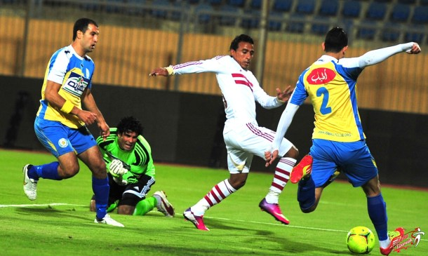 Ismaily vs Zamalek goalless Ismailia