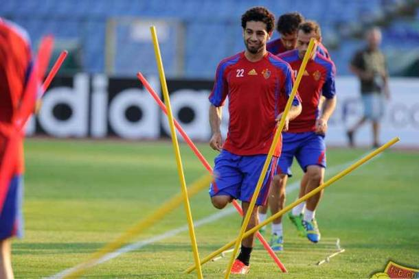 Mohamed Salah Training