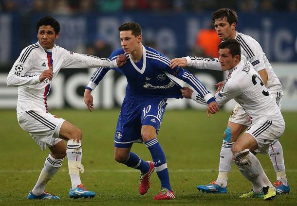 FC Basel vs Schalke - El-Nenny