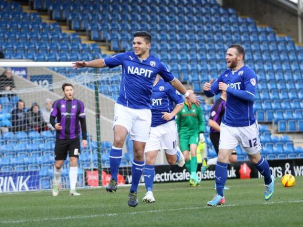 Sam Morsy scores Chesterfield
