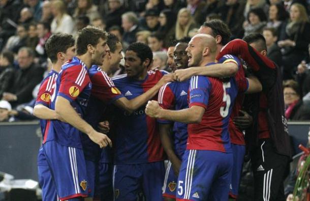 FC Basel draw Valencia