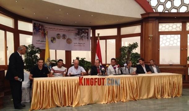 Arab Contractors and CD Nacional Cooperation
