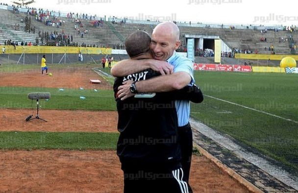 Bob Bradley and Diaa El Sayed