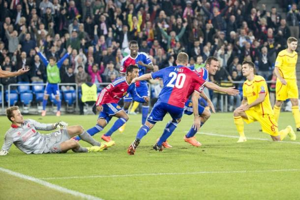 Hamoudi Basel vs Liverpool