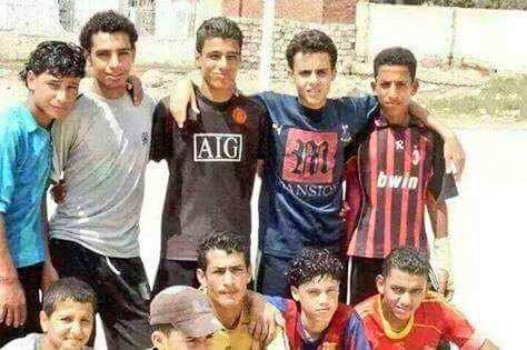 Mohamed Salah friends