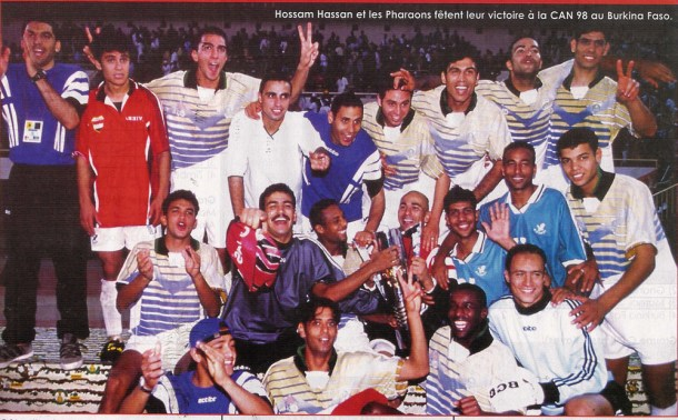 1998 AFCON Egypt African Champions