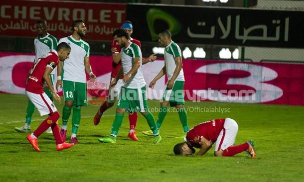 Abdallah El-Said - Al Ahly vs Al Masry, Abdallah El-Said sidelined