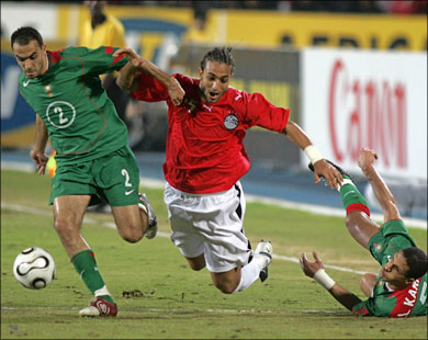 Egypt vs Morocco 2006