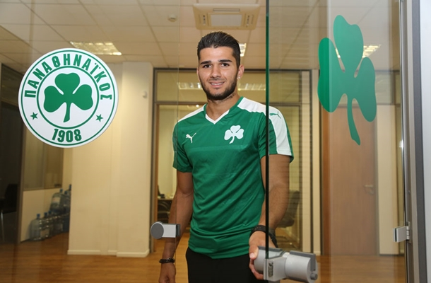 Algeria international Mehdi Abeid joins Panathinaikos