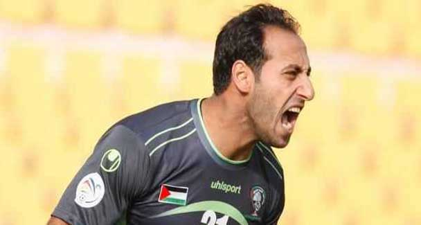Palestine goalkeeper Ramzi Saleh. Photo: Al Masry official website