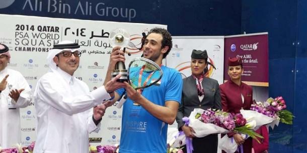 Ramy Ashour PSA Doha