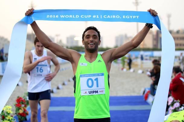 Amro El Geziry Modern Pentathlon