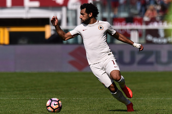 Salah in action against Torino. Photo: Tullio M. Puglia/Getty Images