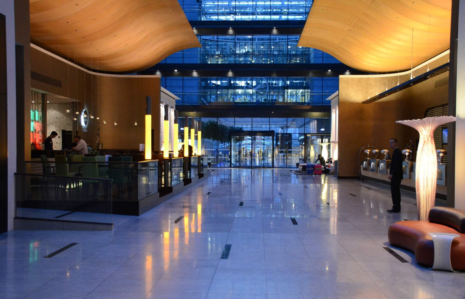 Hilton Frankfurt Airport Hotel Next To Departure