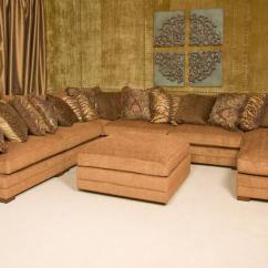 Sofa W Chaise Folding Set King Hickory