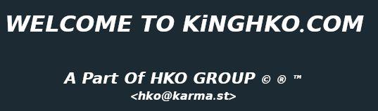 KiNGHKO.COM