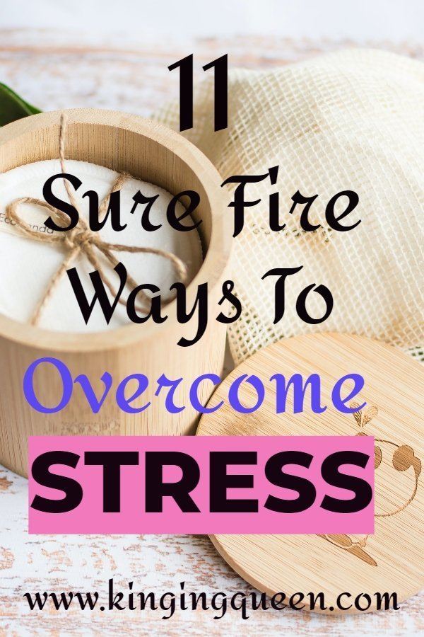 11 ways to overcome stress