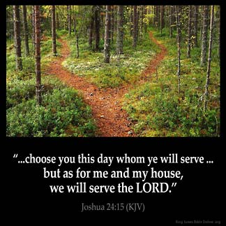 Inspirational Image for Joshua 24:15