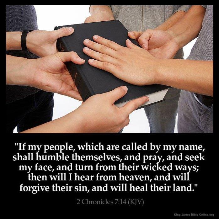 2 Chronicles 7:14 Inspirational Image