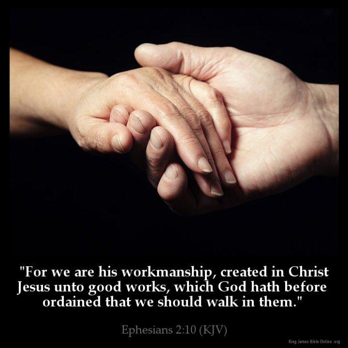 Ephesians 2:10 Inspirational Image