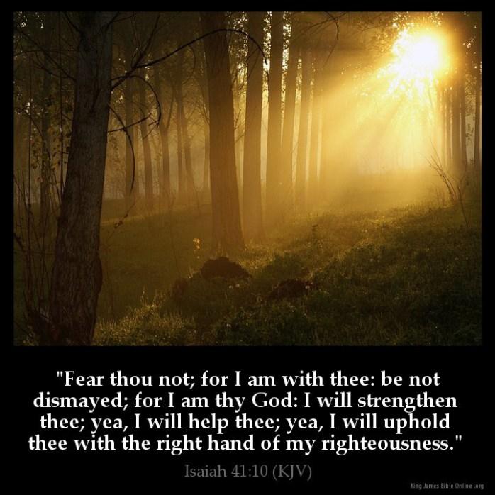 Isaiah 41:10 Inspirational Image