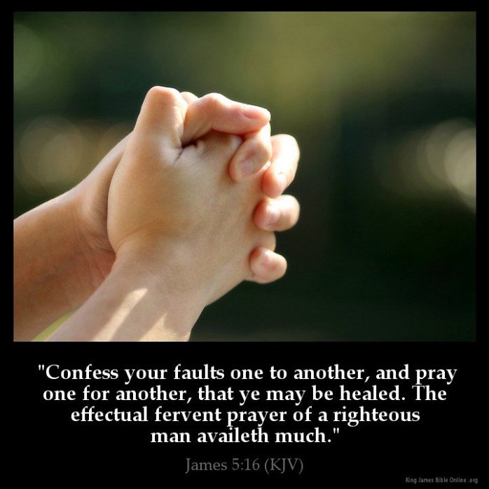 James 5:16 Inspirational Image
