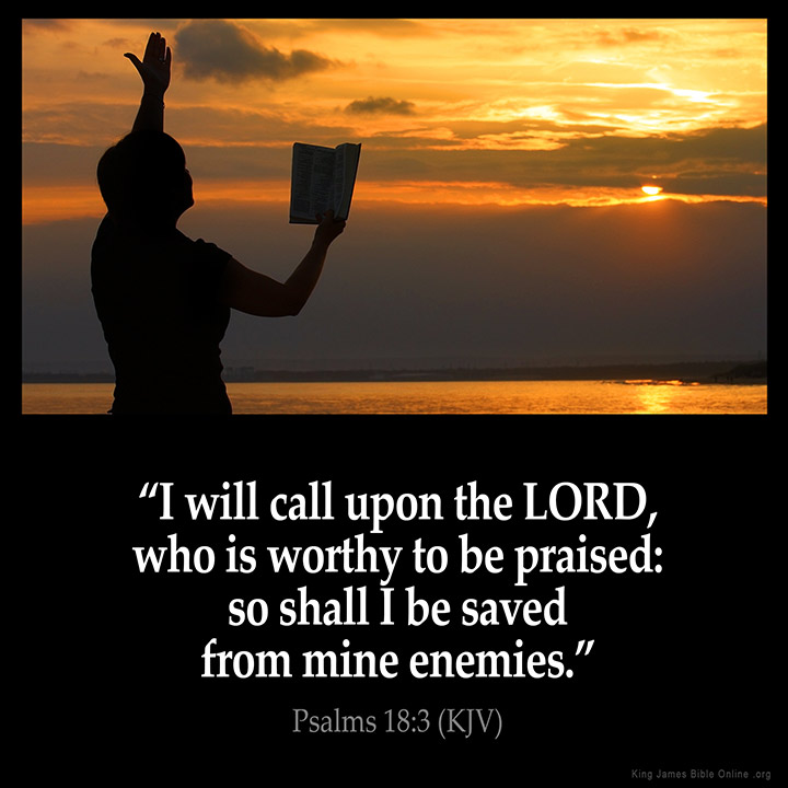 Psalms 183 Inspirational Image
