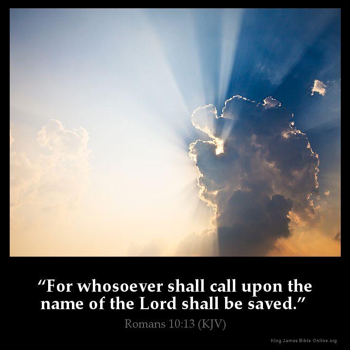 Romans 10:13 Inspirational Image