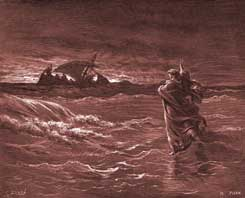 John Chapter 6: Jesus Walks on the Water