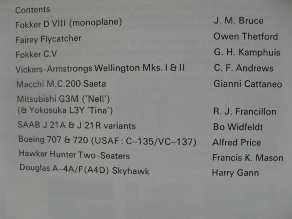 CHEAP BOOKS ZB105 A SELECTION OF INTERNATIONAL AIRCRAFT
