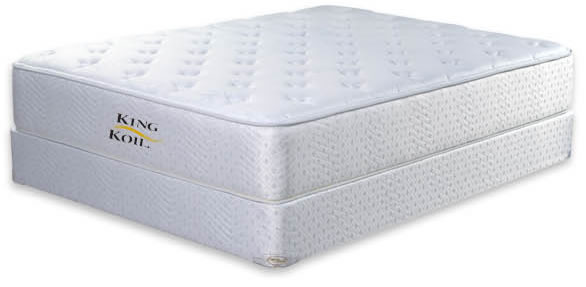 Promotional Orthopedic Luxury Mattress Based On An Inner Construction Of Bonnell Springs With Firmness Generated By Cotton Felt Topped A Puf