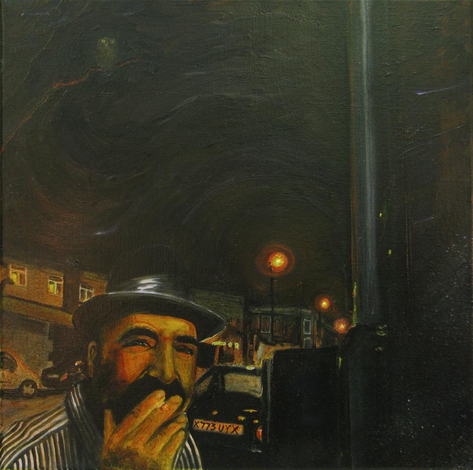 Harrison, David   Cally Road After Dark Stalked Men   2012