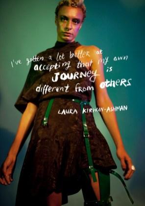 Dress - Nhorm | Leg piece - Jivomir Domoustchiev | Rings - The Great Frog