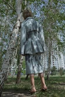 Jacket and skirt - Bevza | Bag - Marc Jacobs