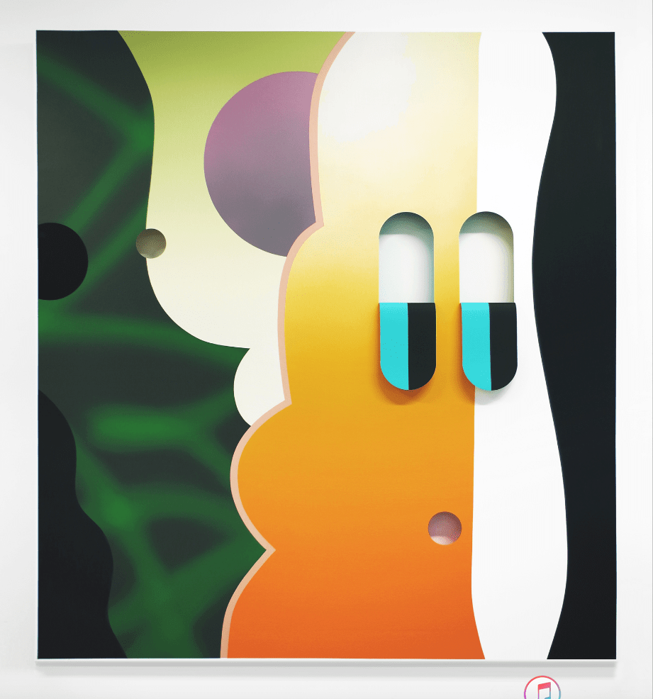 Derek Mainella Untitled (nuclear winter), 2017 Oil and acrylic on canvas 165 x 150 cm