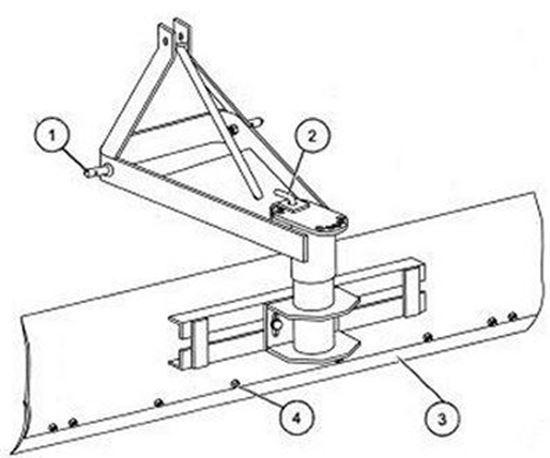 King Kutter. RB-OT-72 Parts Diagram