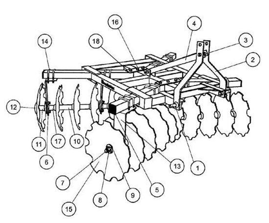 King Kutter. 18-16-NBF Parts Diagram