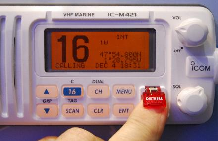 How To Use That Little Red Distress Button On Your VHF