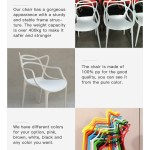 Modern Dining Room Chair For Colorful Chairs Outdoor Plastic